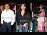 Salman Khan's ex hugs his mother Salma Khan at PHATA POSTER screening