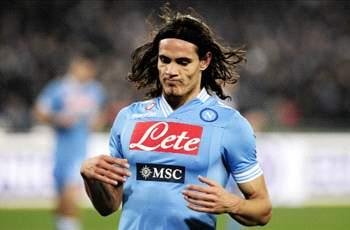 Manchester City target Cavani happy at Napoli, insists agent