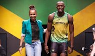 Jamaican designer Cedella Marley (L) and Jamaican sprinter Usain Bolt walk on a podium during the official presentation of the Jamaican clothing for the 2012 Olympic games in June 2012. Designer Giorgio Armani predicted that the London Olympics would be the most stylish ever, but fashion experts say there has been as much bad taste as elegance on display