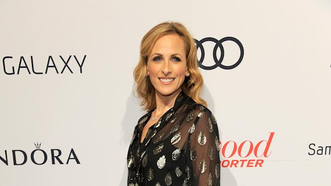 Marlee Matlin arrives at The Hollywood Reporter Nominees' Night at Spago on Monday, Feb. 4, 2013, in Beverly Hills, Calif. (Photo by Chris Pizzello/Invision for The Hollywood Reporter/AP Images)