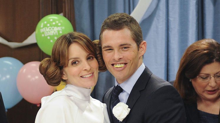"TV Weddings - Liz Lemon and Criss Chros: ""30 Rock"" (2012)"