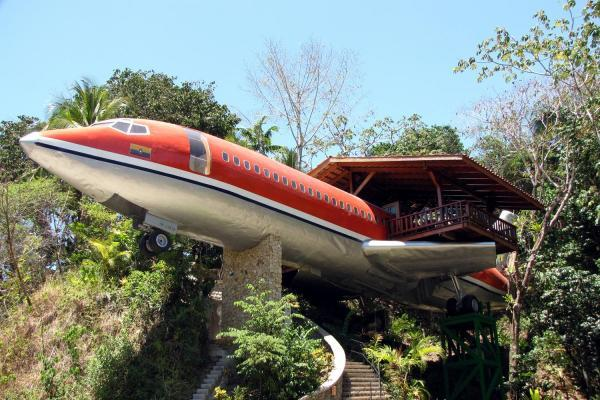 Unique Converted Hotels Airplane Hotel