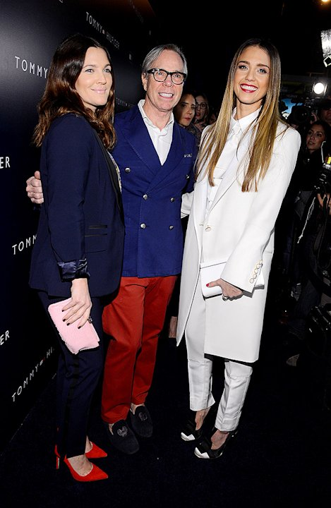 Drew Barrymore, Tommy Hilfiger, Jessica Alba