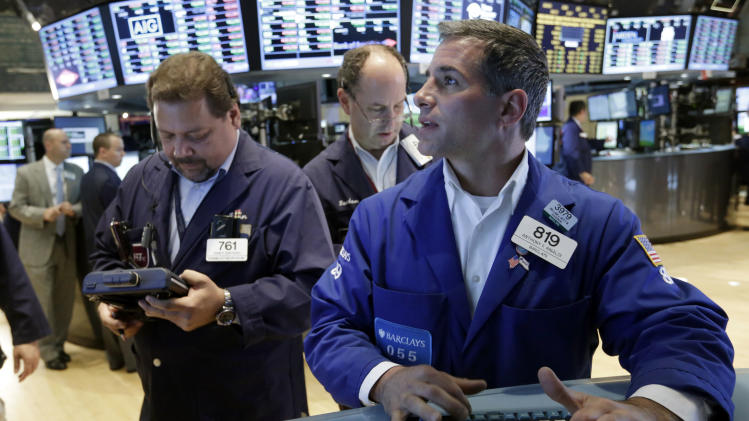 US stocks end higher as major earnings kick off