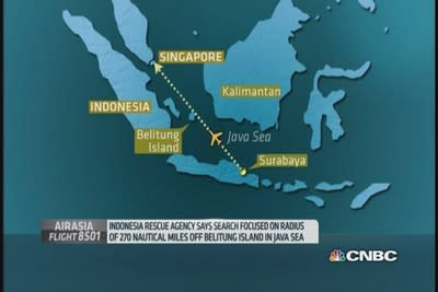 Indonesia set to resume search for missing AirAsia plane, relatives wait