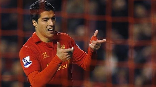 Luis Suarez, Liverpool (Reuters)