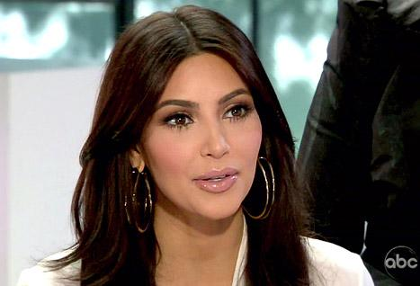 "Barbara Walters Grills Kim Kardashian on Sex Tape, Lack of ""Talent"""