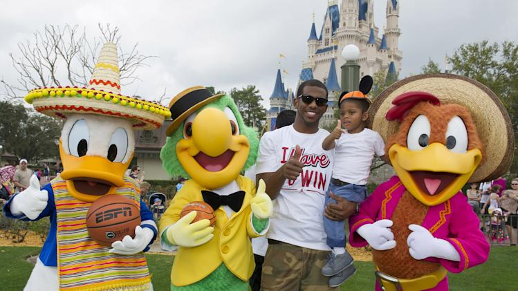 NBA All-Star Chris Paul Visits Disney World