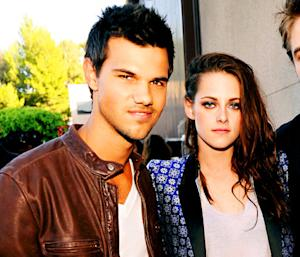 Kristen Stewart Visits Batting Cages with Taylor Lautner