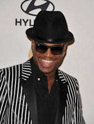 Recording artist Ne-Yo arrives at the Clive Davis Pre-GRAMMY Gala on Saturday, Feb. 9, 2013 in Beverly Hills, Calif. (Photo by John Shearer/Invision/AP)