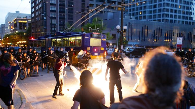 May Day rally turns violent in Seattle