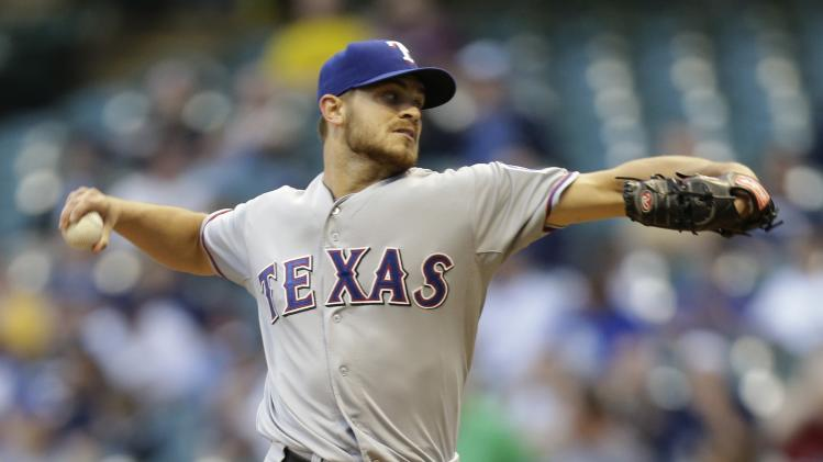 Texas Rangers v Milwaukee Brewers