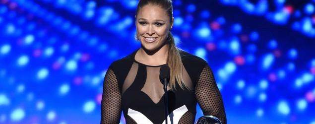 Rousey says yes to Marine Corps Ball date
