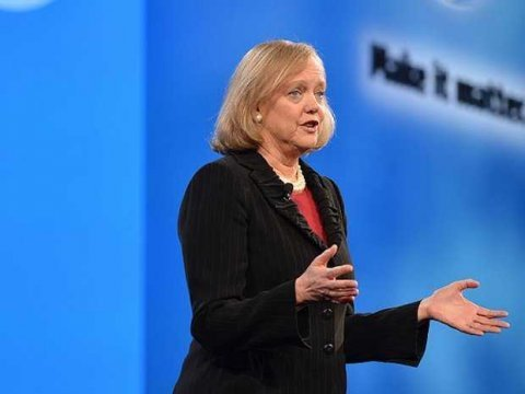 Meg Whitman speaking