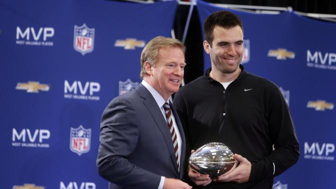 NFL: Super Bowl XLVII-Winning Coach and MVP Press Conference
