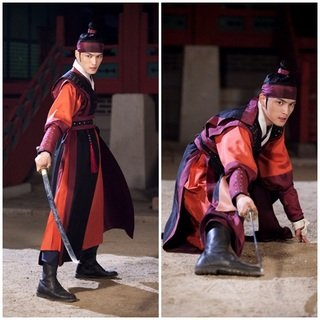 Sword-Wielding Kim Jae Joong Previews Released for 'Time Slip Dr. Jin'