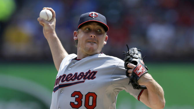 Correia pitches Twins to 4-2 win at Texas