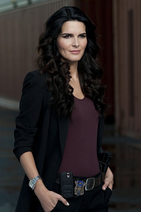 Angie Harmon stars in &quot;Rizzoli and Isles.&quot; 