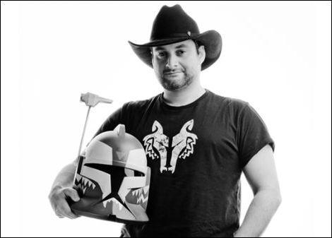 """Star Wars: The Clone Wars"" Supervising Director Dave Filoni. Used with permission."
