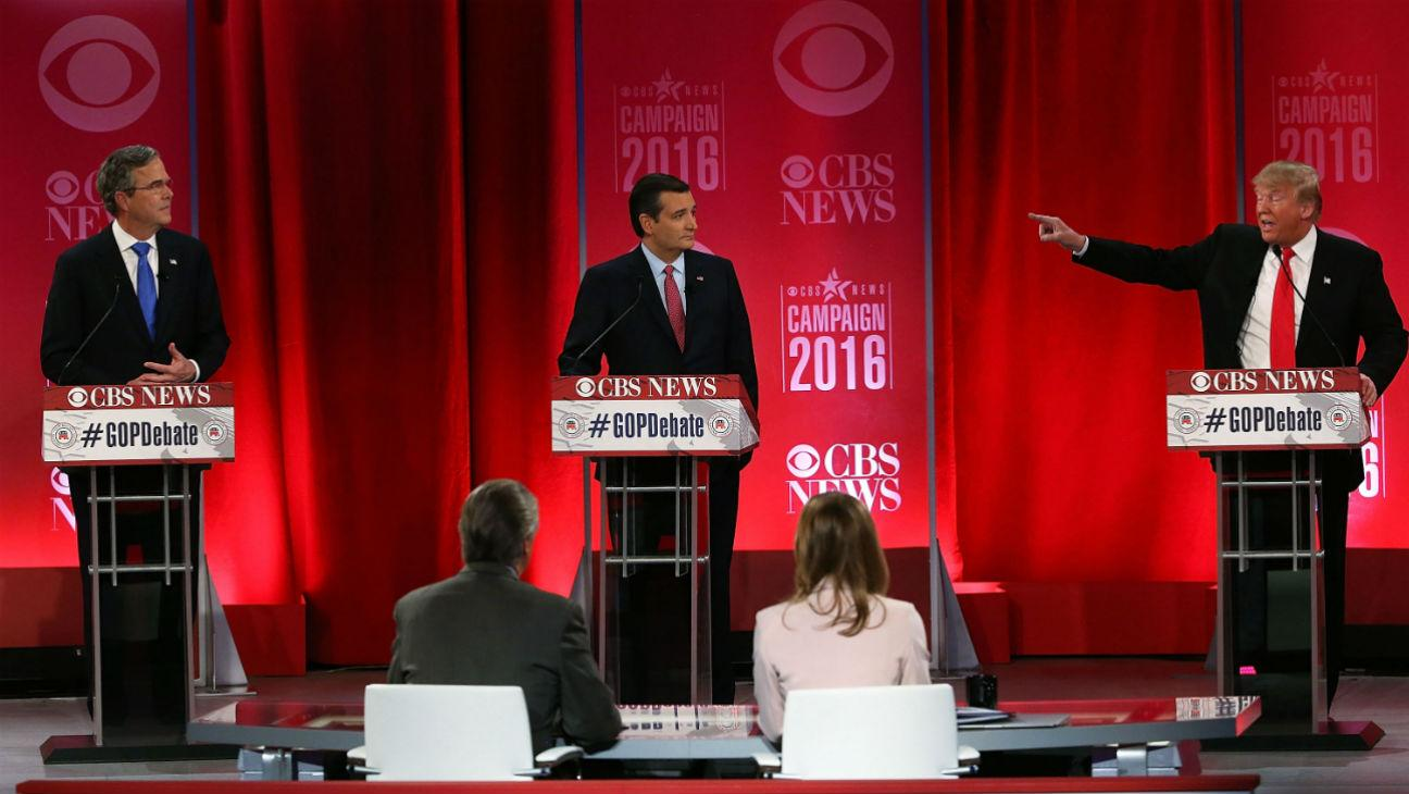Critic's Notebook: GOP Debate Opens With a Moment of Silence for Antonin Scalia, But Gets Very, Very Noisy From There