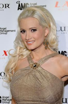 "Holly Madison from the television show ""Holly's World"" arrives at the LAX Nightclub at the Luxor Resort & Casino on February 23, 2011 in Las Vegas -- Getty Images"