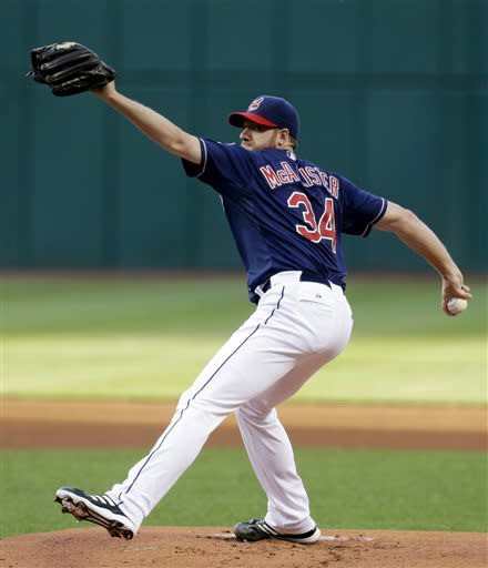 Raburn homers twice, Indians hit 7 HRs, rout Phils