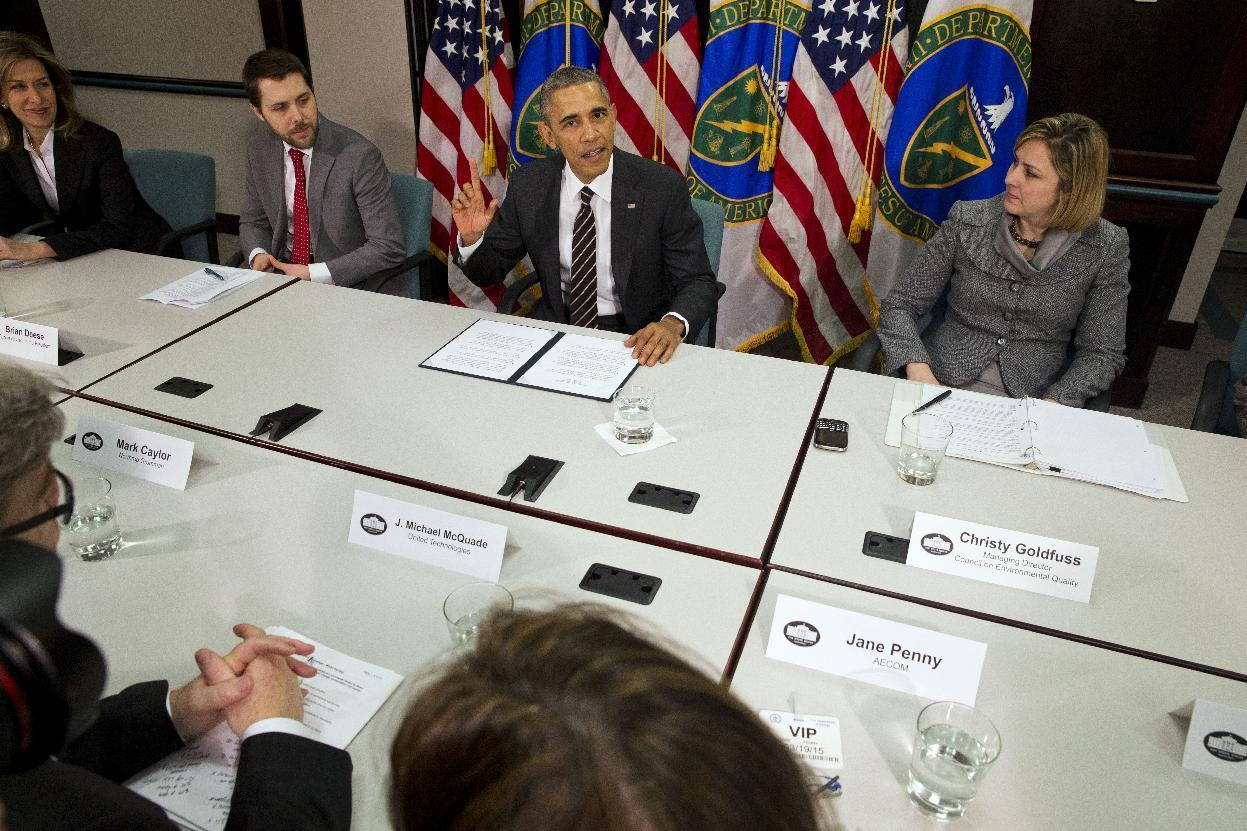 US to pledge up to 28 percent emission cut in global treaty