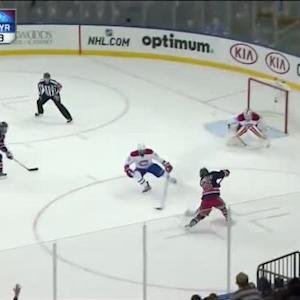 Dustin Tokarski Save on Mats Zuccarello (19:51/2nd)