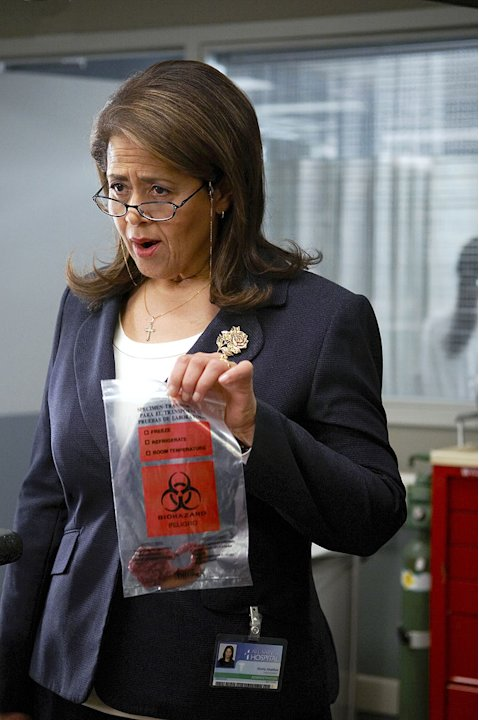 Anna Deavere Smith stars in the Showtime series Nurse Jackie.