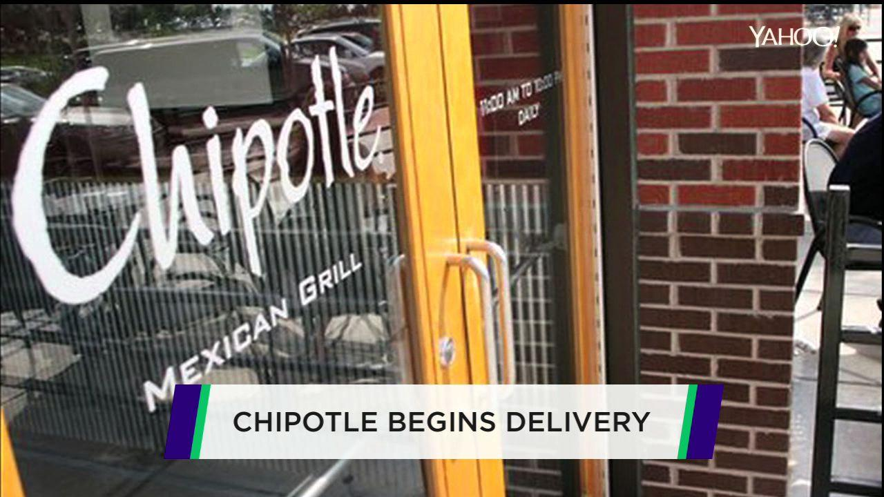 Chipotle delivery service doesn't come cheap
