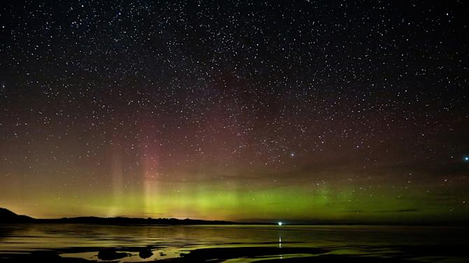 'Embleton Rays', Northumberland: David Waterhouse drove for over four hours before he inadvertantly caught this 15-minute Northern Lights show, which was commended in the 'Classic View' category. (David Waterhouse, Landscape Photographer of the Year)