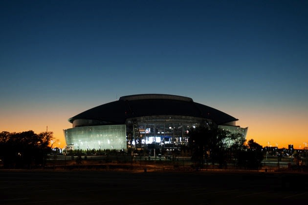 It's unlikely that the new Frisco ISD-Cowboys dome will be as large as AT&T Stadium — Getty