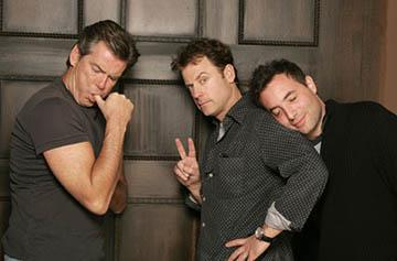 Pierce Brosnan, Greg Kinnear and Richard Shepard of The Matador Sundance Film Festival - 1/22/2005