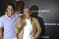 Rafael Nadal and Richard Mille