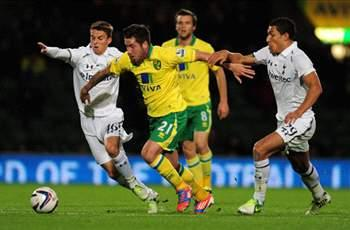 Norwich City 2-1 Tottenham: Late Spurs collapse and missed Dempsey penalty haunt sloppy Spurs