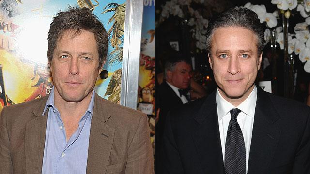Hugh Grant Responds to Jon Stewart Diss
