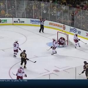 Mike Smith Save on Patrice Bergeron (10:05/1st)