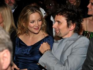 Kate Hudson and Muse rocker Matthew Bellamy attend The 53rd Annual Grammy Awards held at Staples Center on February 13, 2011 in Los Angeles -- WireImage