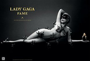PHOTO: Lady Gaga Shocks As She Poses Nude For Perfume Ad
