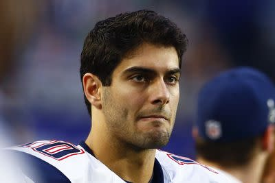 Court ruling shifts Jimmy Garoppolo from fantasy lineups to fantasy irrelevance