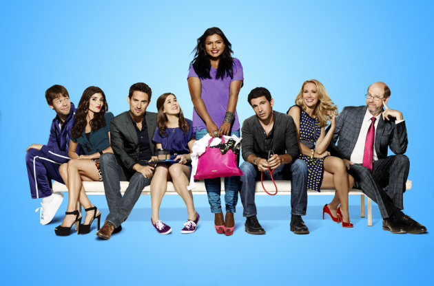 "The cast of ""The Mindy Project"" on Fox."