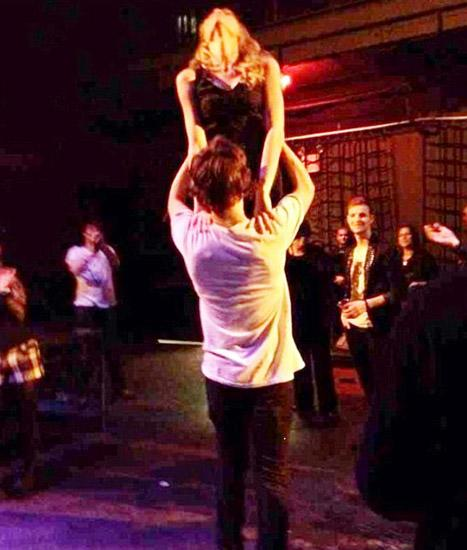 Taylor Swift, Harry Styles Do the Dirty Dancing Lift at After Party: Picture