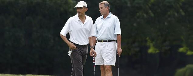 Why House speaker can't golf with Obama