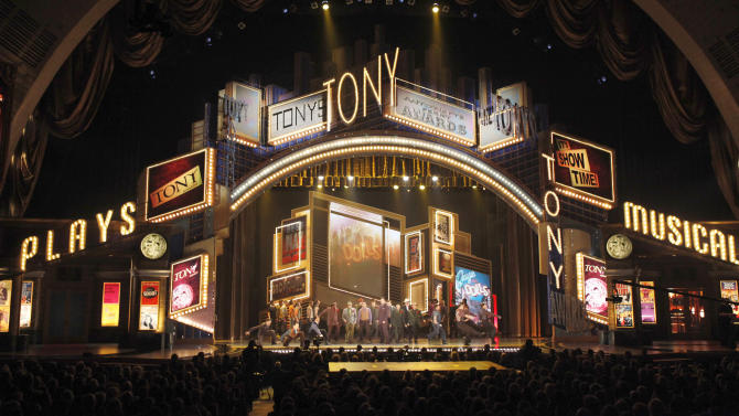 Tony Awards to head back to Radio City Music Hall