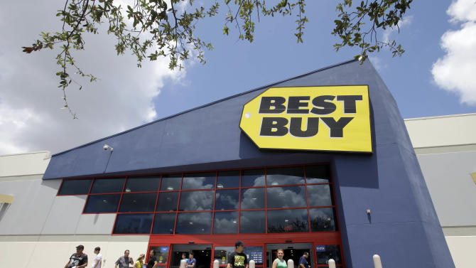 Best Buy tops expectations on cost cuts, web sales