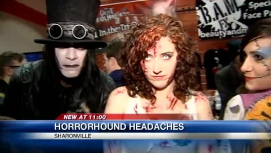 Horror convention opneing night more popular than expected