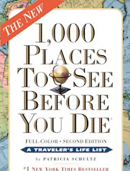 "This book cover image courtesy of Workman Publishing shows the cover of ""1,000 Places To See Before You Die,"" by Patricia Schultz. Books with a travel theme _ whether practical, beautiful, inspirational or just a good read _ might make the perfect holiday gift this season. (AP Photo/Workman Publishing)"