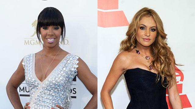 Kelly Rowland & Paulina Rubio Join 'X Factor'