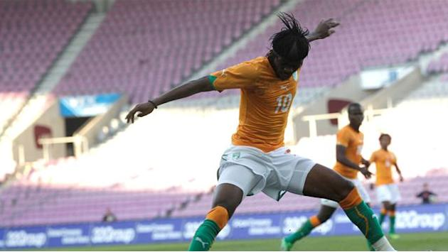 African Cup of Nations - Gervinho double sends strong Ivory Coast message