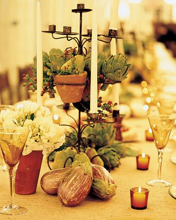 Fruit and Vegetable Centerpiece